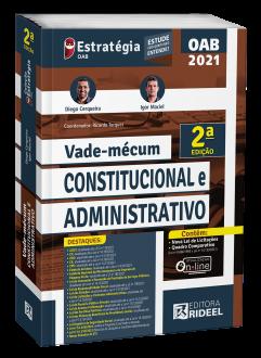 Imagem - Vade-mécum Constitucional e Administrativo 2ª edição cód: 9786557384459