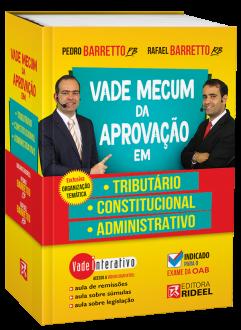 Imagem - Vade Mecum da Aprovacao em: Tributario, Constitucional e Administrativo cód: 9798533903772