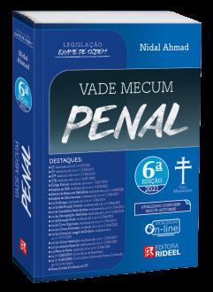 Imagem - Vade Mecum Penal - Legislação Exame de Ordem 6ª edição  cód: 9786557381588
