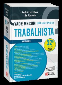 Imagem - Vade Mecum Trabalhista - Legislação Específica - 32ª edição cód: 9786557384190