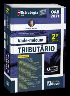 Imagem - Vade-mécum Tributário - 2ª edição cód: 9786557384480