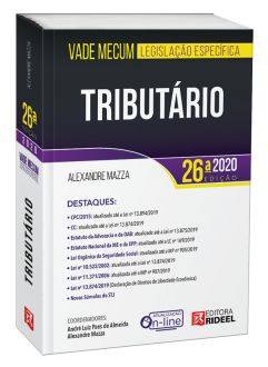 Imagem - Vade Mecum Tributário - Legislação Específica - 26ª edição - 9788533958906