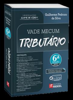 Imagem - Vade Mecum Tributário - Legislação Exame de Ordem 6ª edição - 9786557381564