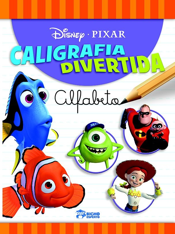 Caligrafia Divertida Disney - Alfabeto