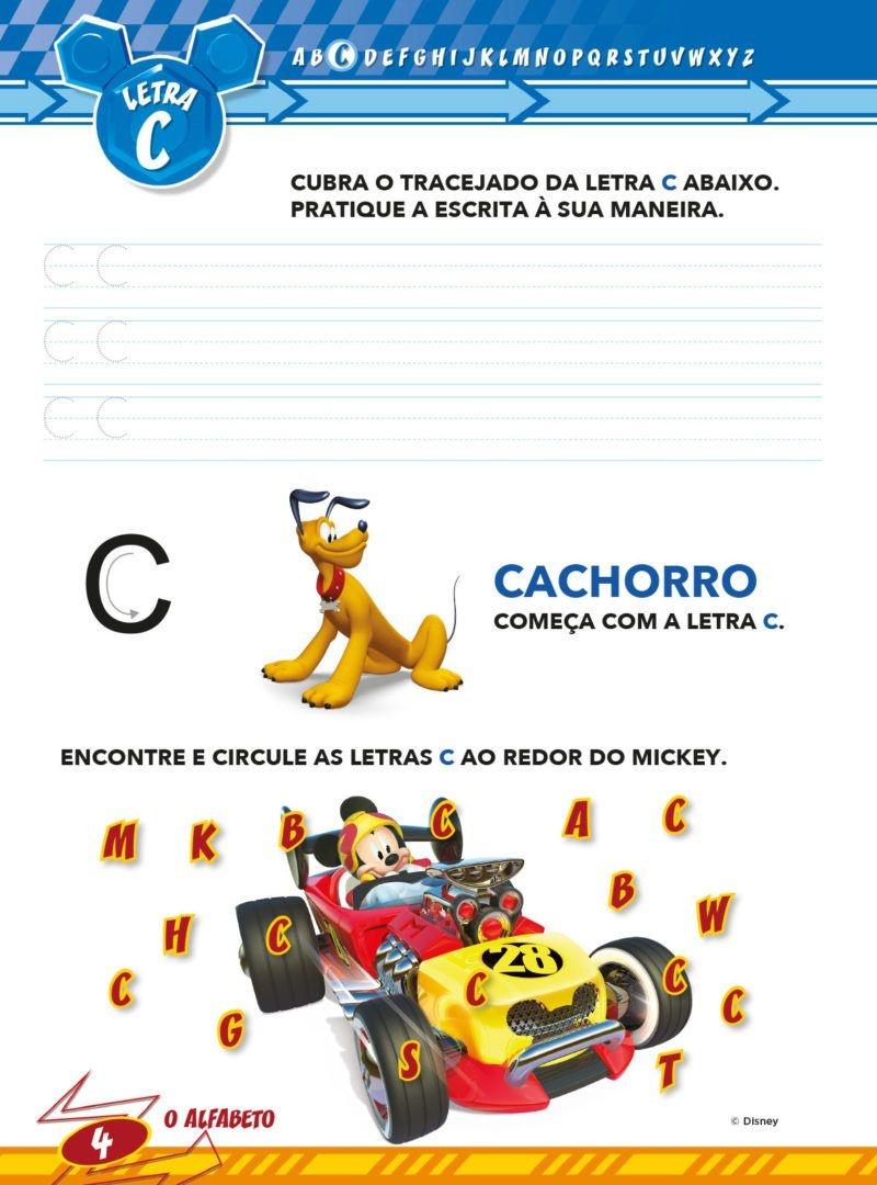 Atividades Educativas Disney - Aprendendo o Alfabeto  2