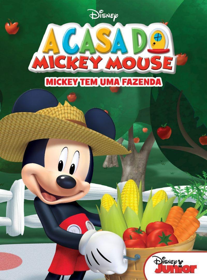 Mini Livro da Disney - A Casa do Mickey Mouse
