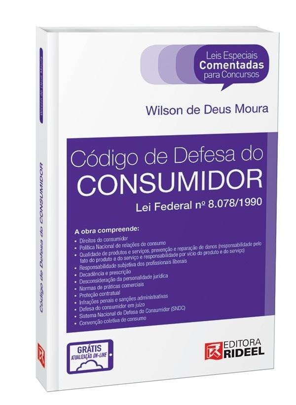 Leis Especiais Comentadas - Código do Consumidor