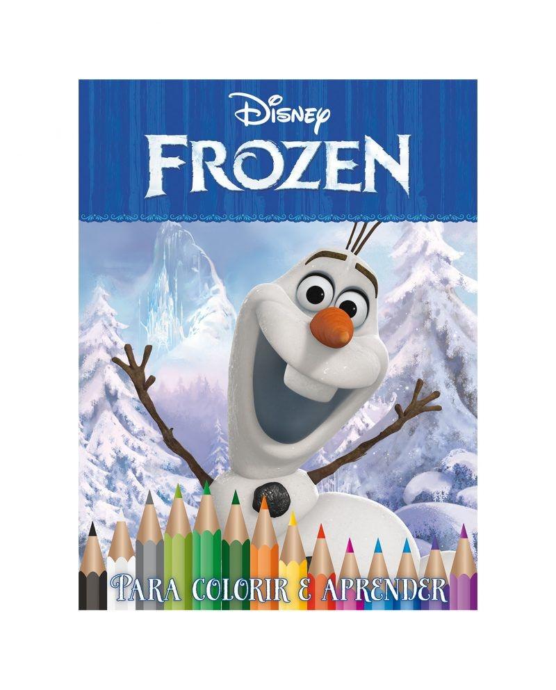 Kit 5 em 1 com DVD Disney - Olaf 2