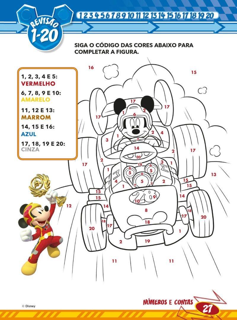 Atividades Educativas Disney - Números e Contas 4