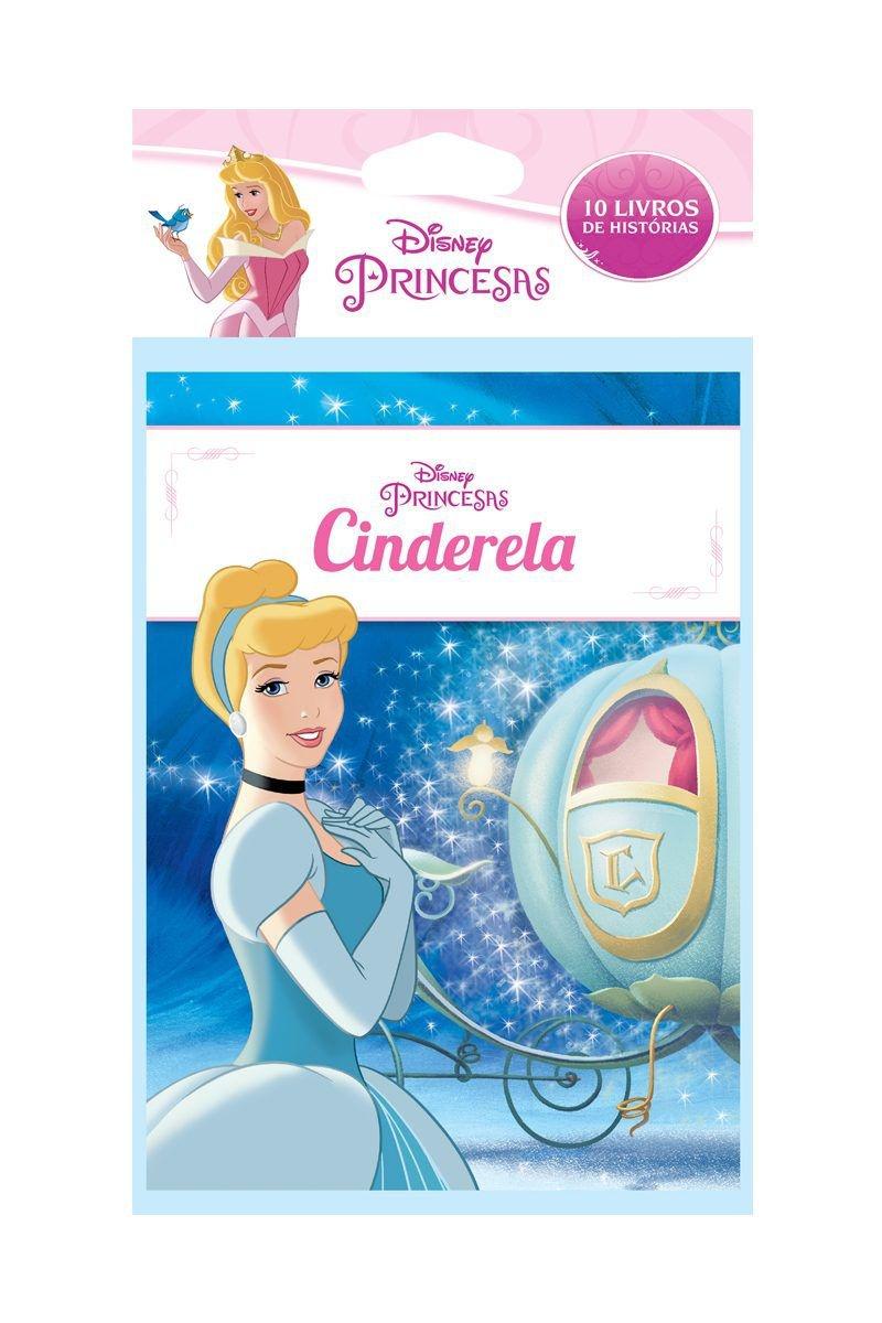 Solapa Média Histórias Disney (Pct 10 livros) - Princesas