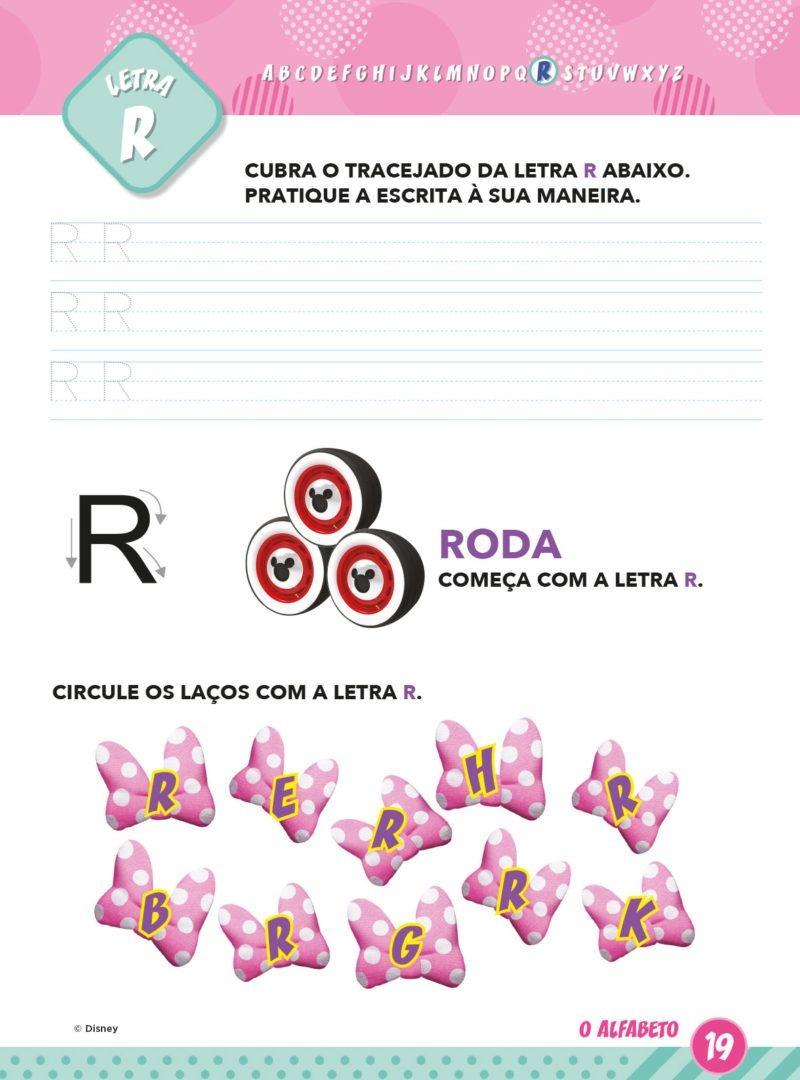 Atividades Educativas Disney - Aprendendo o Alfabeto Minnie 4
