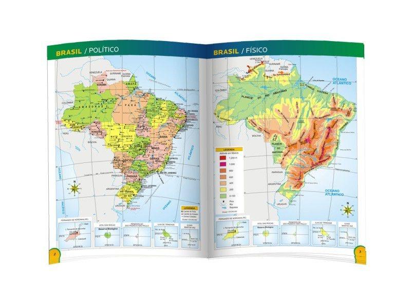 Atlas Geográfico Escolar - Luxo 2