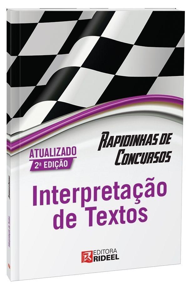 Rapidinhas de Concursos- Interpretação de Textos