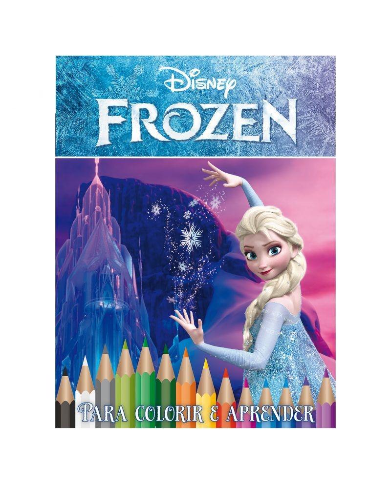 Disney Kit 5 em 1 com DVD - Frozen 2