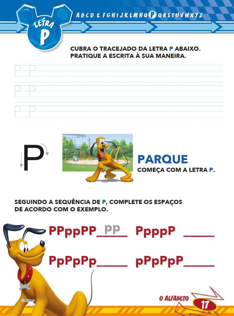 Atividades Educativas Disney - Aprendendo o Alfabeto  4