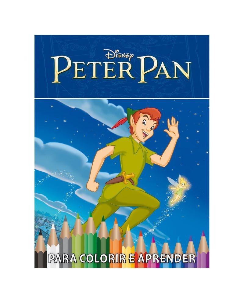 Disney Kit 5 em 1 com DVD - Peter Pan 2