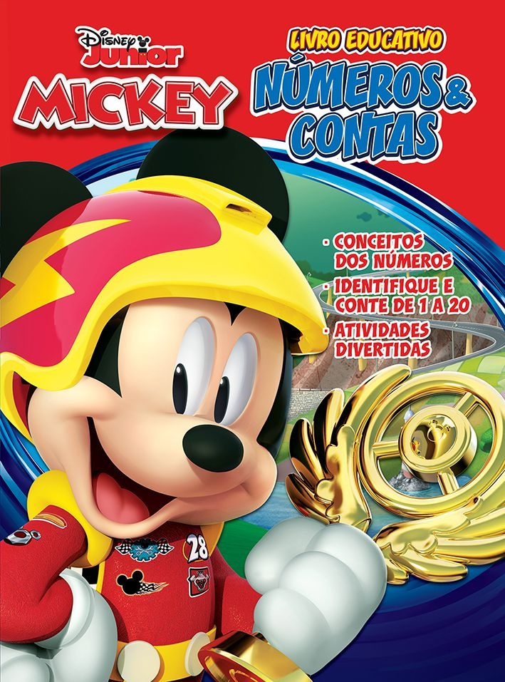 Atividades Educativas Disney - Números e Contas