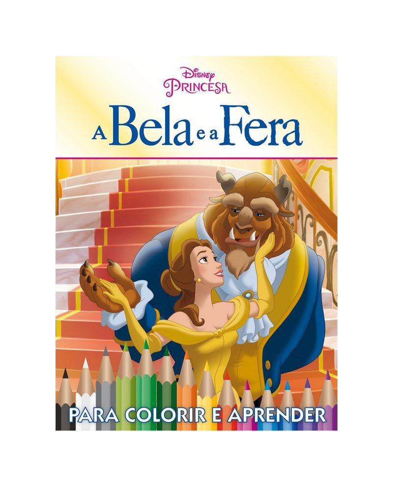 Kit 5 em 1 com DVD Disney - A Bela e a Fera 2