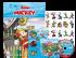 Disney Kit 5 em 1 com DVD - Mickey Dia de Pescaria