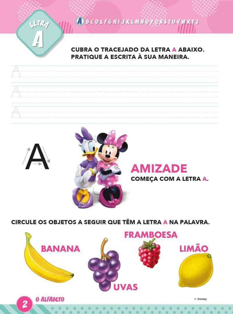 Atividades Educativas Disney - Aprendendo o Alfabeto Minnie 2