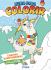 Livro Para Colorir - Lhamas Aventureiras