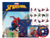 Marvel Kit 5 em 1 com DVD - Homem Aranha