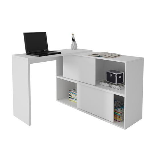 Computer Desk BC44 - BRV Furniture - White