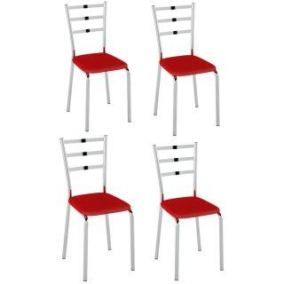 Cadeira 4 Unidades PC14 - Pozza
