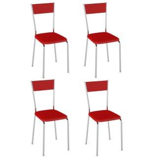 Cadeira 4 Unidades PC15 - Pozza