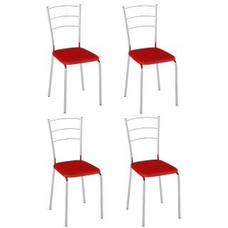 Cadeira 4 Unidades PC16 - Pozza
