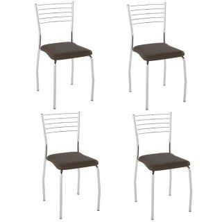 Cadeira PC02 4 Unidades - Pozza