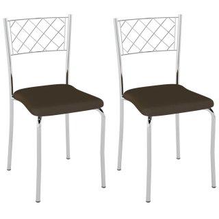 Cadeira PC04 2 Unidades - Pozza