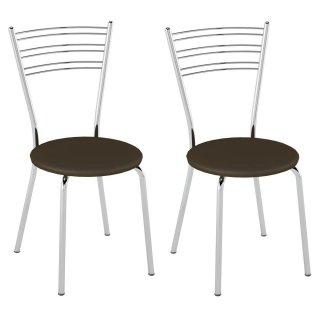 Cadeira PC05 2 Unidades - Pozza