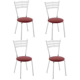 Cadeira PC05 4 Unidades - Pozza
