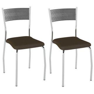Cadeira PC06 2 Unidades - Pozza