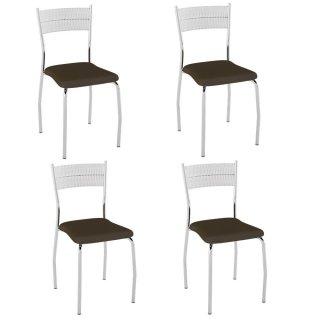 Cadeira PC08 4 Unidades - Pozza