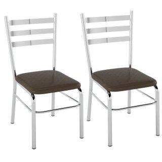 Cadeira PC09 2 Unidades - Pozza