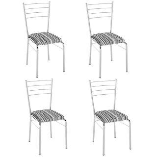 Cadeira PC10 4 Unidades - Pozza