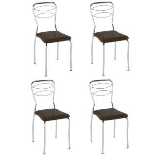 Cadeira PC11 4 Unidades - Pozza