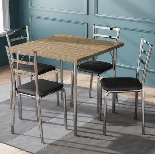 Conjunto de Mesa PM24 e 4 Cadeiras PC14 - Pozza
