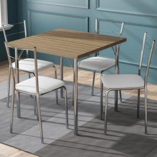 Conjunto de Mesa PM24 e 4 Cadeiras PC16 - Pozza