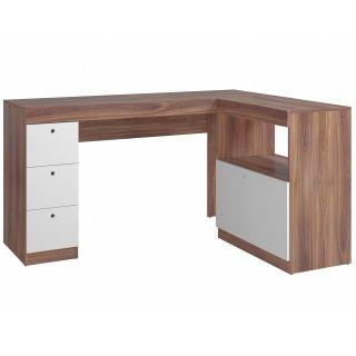 Escrivaninha 2 Portas 3 Gavetas BC 74 Linha Office IV - BRV Móveis