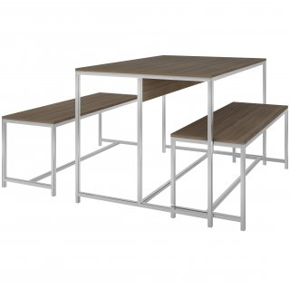 Mesa com Bancos Easy PM33 - Pozza