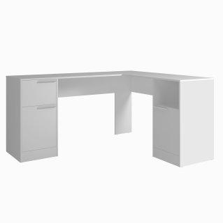 Mesa de Computador 2 Portas 1 Gaveta BC 96 Linha Office IV - BRV Móveis