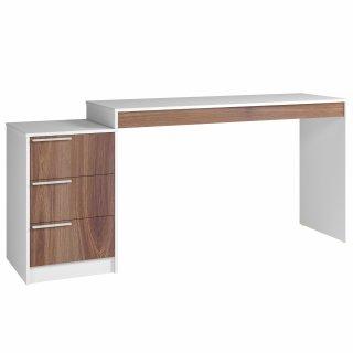 Mesa de Computador com Gaveteiro BC 98 Linha Office IV - BRV Móveis