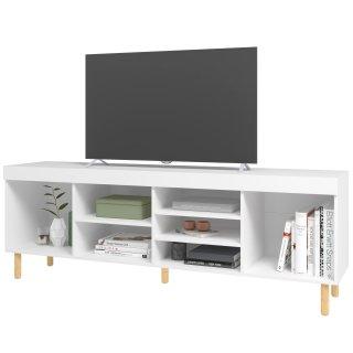 Rack para TV com 7 Nichos BLC 64 Linha Easy - BRV Móveis