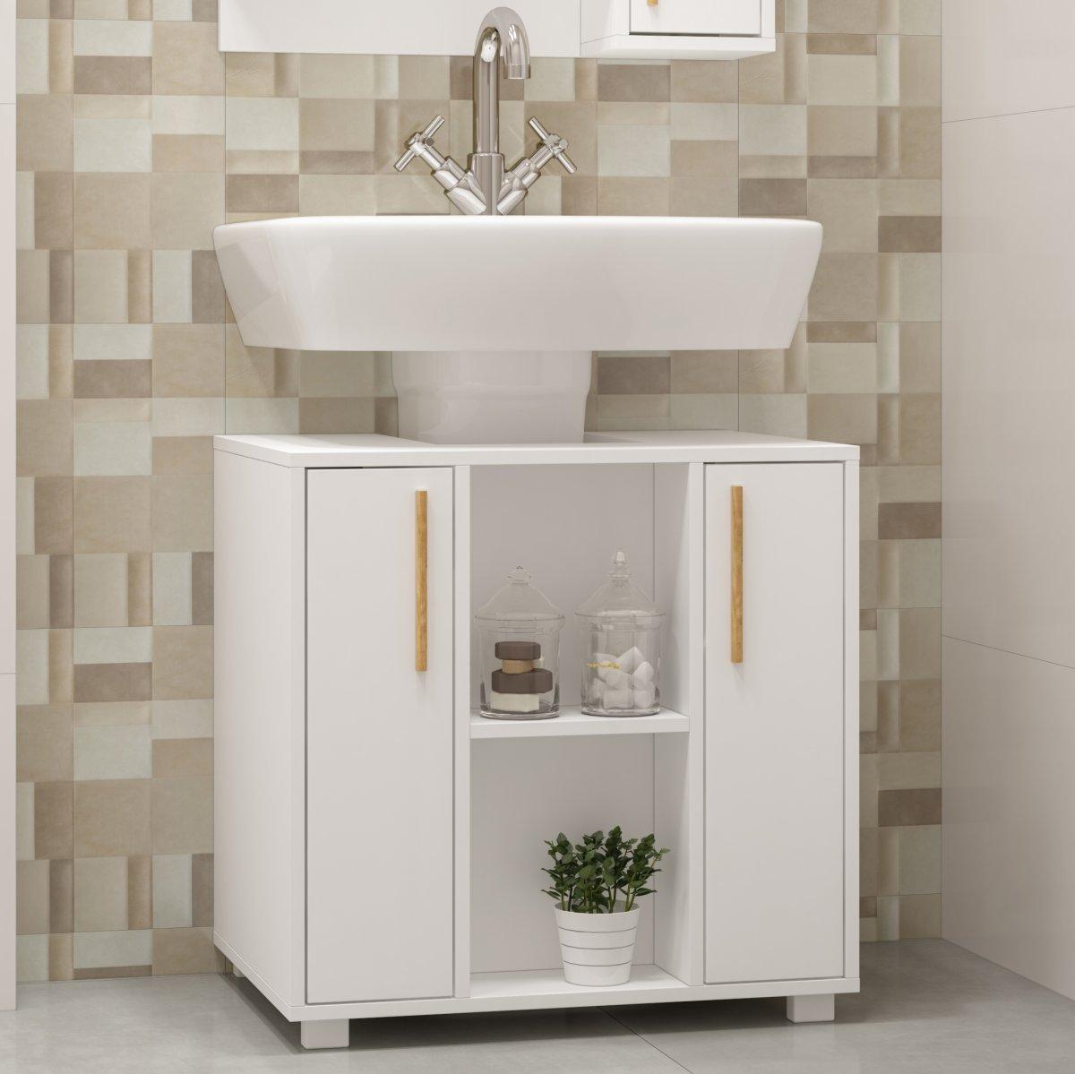 Balcão Para Banheiro Linha Versa Bbn 08 Brv Móveis