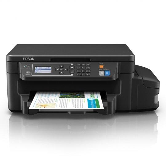 Impressora Multifuncional Wi-Fi Epson Tanque de Tinta L606