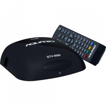 Imagem - Conversor e Gravador Digital Full HD Aquario DTV-5000