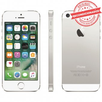 iPhone 5S Prata 16GB Apple Recondicionado